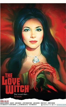 Portada de la película The Love Witch