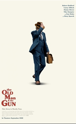 Portada de The Old Man and the Gun