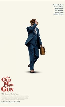 Portada de la película The Old Man and the Gun