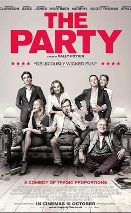Portada de la película The Party