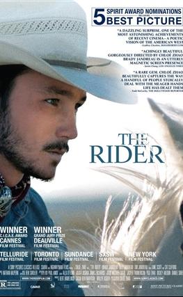 Portada de The Rider