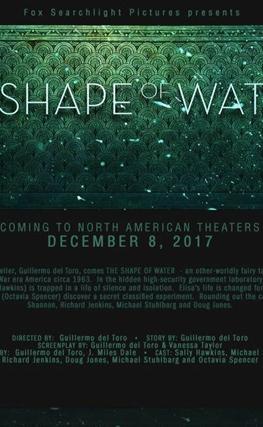 Portada de la película The Shape of Water