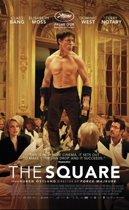 Portada de la película The Square