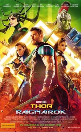 Portada de Thor: Ragnarok
