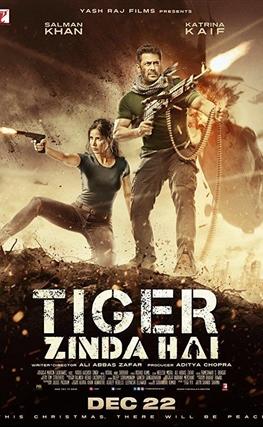 Portada de la película Tiger está vivo