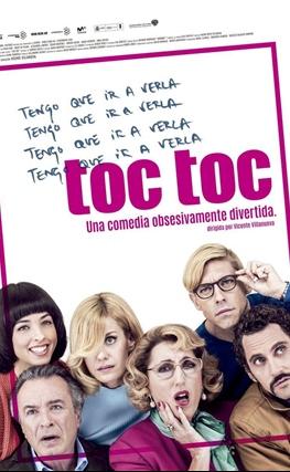 Portada de la película Toc Toc
