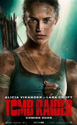 Portada de la película Tomb Raider