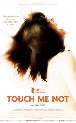 Portada de la película Touch Me Not (No me toques)