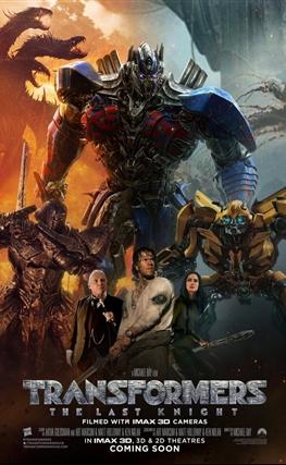 Portada de Transformers: El último caballero