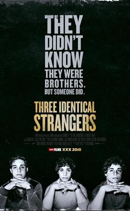 Portada de la película Tres idénticos desconocidos