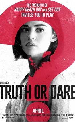 Portada de la película Truth or Dare