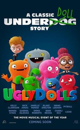 Portada de la película UglyDolls: Extraordinariamente feos