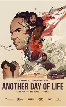 Portada de la película Un día más con vida