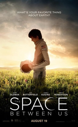 Portada de la película Un espacio entre nosotros