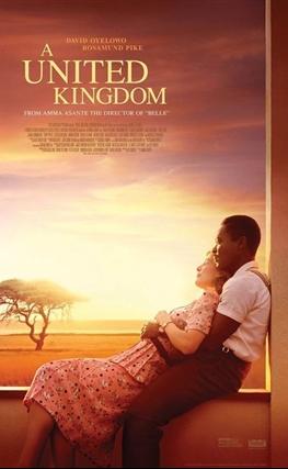 Portada de la película Un reino unido