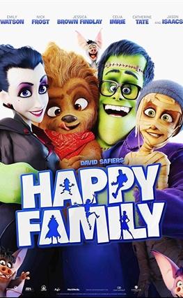 Portada de Una familia feliz