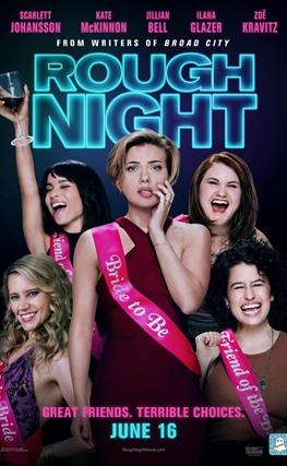 Portada de la película Una noche fuera de control