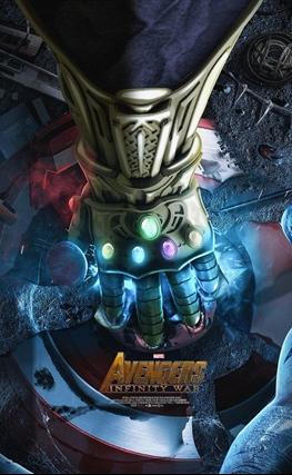 Portada de Vengadores: La guerra del infinito
