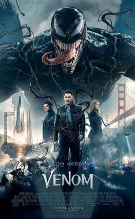 Portada de la película Venom