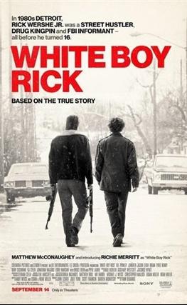 Portada de la película White Boy Rick