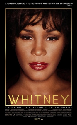 Portada de la película Whitney