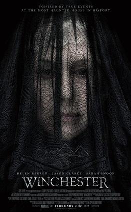 Portada de la película Winchester: La casa que construyeron los espíritus