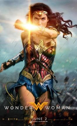 Portada de la película Wonder Woman