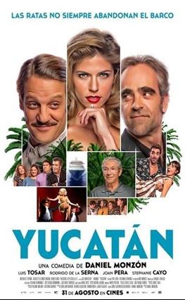 Portada de la película Yucatán