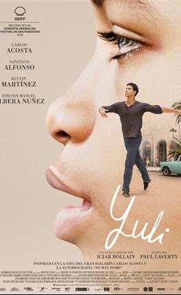 Portada de la película Yuli