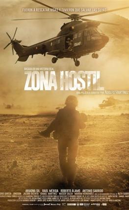 Portada de la película Zona hostil